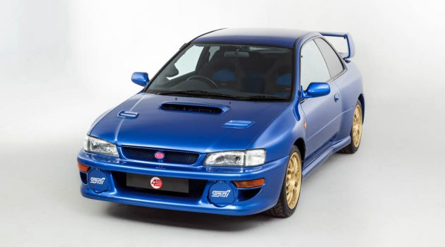 经典日系性能车款回顾:Subaru Impreza 22B STi