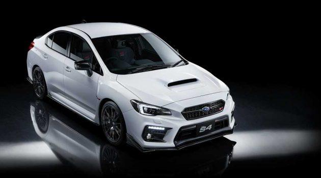 Subaru WRX S4 STi Sport 限量登场,换装 STi 赛车套件,马力300PS!