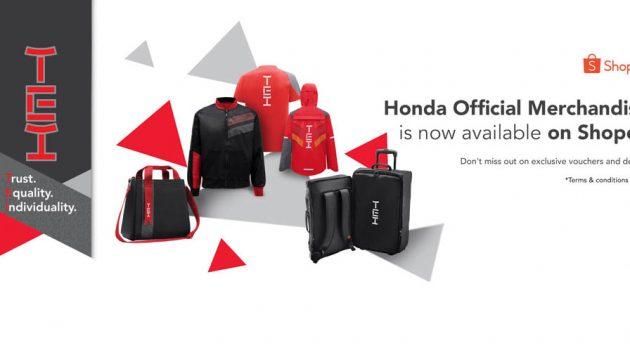 Honda Malaysia 与 Shopee 电子商城合作,如今可在 Shopee 购买 Honda TEI 物品!
