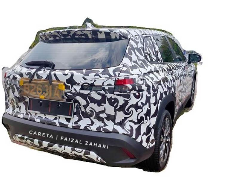 Toyota  Corolla Spy Shot