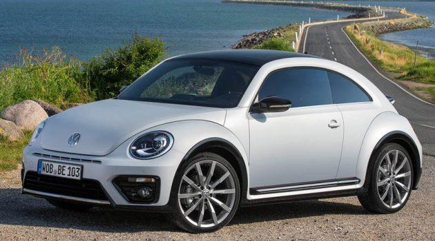 Volkswagen Beetle 经典甲虫车重新注册商标,Beetle 或复活!