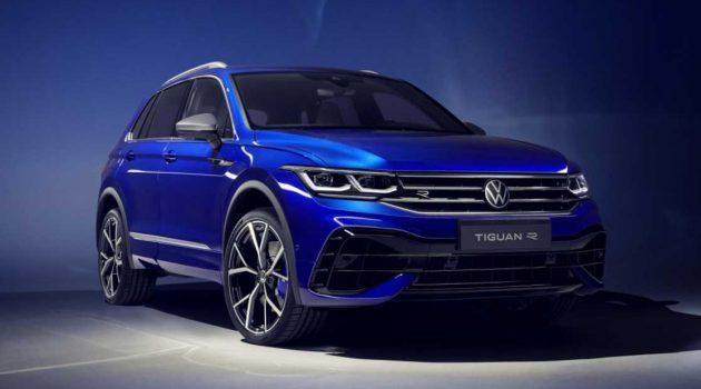 2022 Volkswagen Tiguan 正式发布,315Hp Tiguan R 一同登场