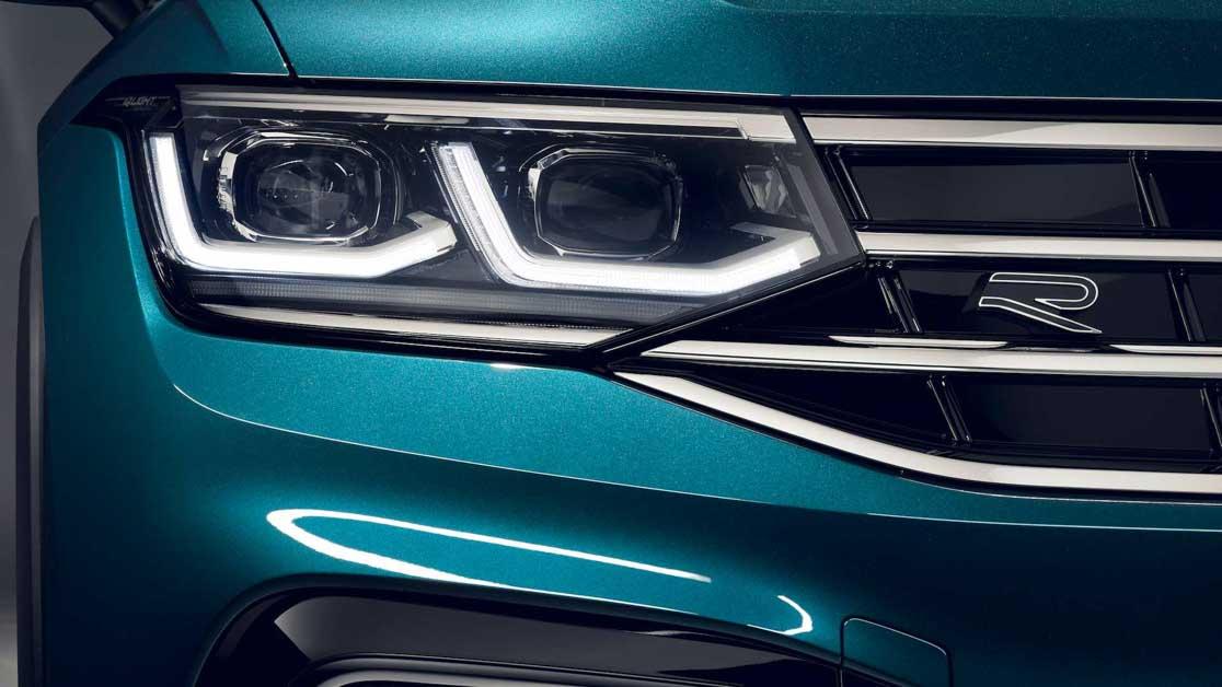 2022 Volkswagen Tiguan 正式登场,外观更动感,内装更精致
