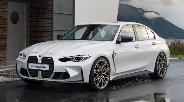 2021 BMW M3 今年9月登场,最接近实车原貌曝光!