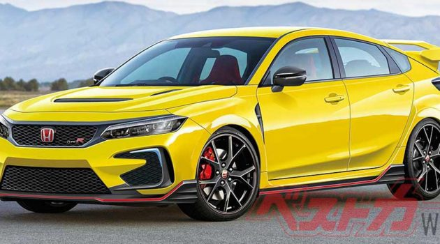 Honda Civic Type R 大改款2022年登场?马力突破400 PS!