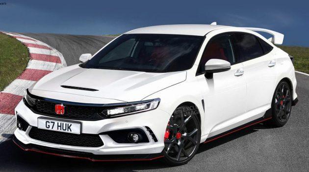 Honda Civic XI 现身,车身尺码进一步放大