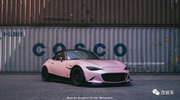 Mazda MX-5 也能这样玩?魂动和 VTEC 的结合!