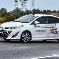 2019 Toyota Vios 的配备还会kosong吗?