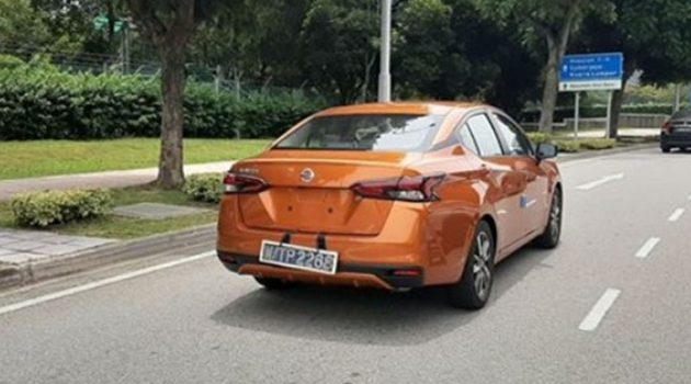 2020 Nissan Almera 无伪装现身!即将开放预订?