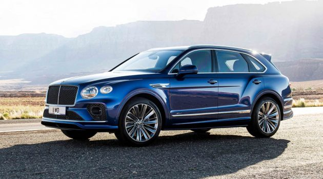2021 Bentley Bentayga Speed 发布,地表最速 SUV,时速可达306KM/H!