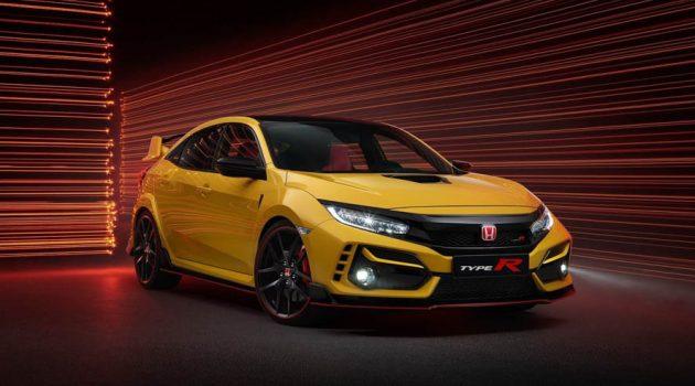 2021 Honda Civic Type R FK8 Limited Edition 赛道实测,极速可达290KM/H!