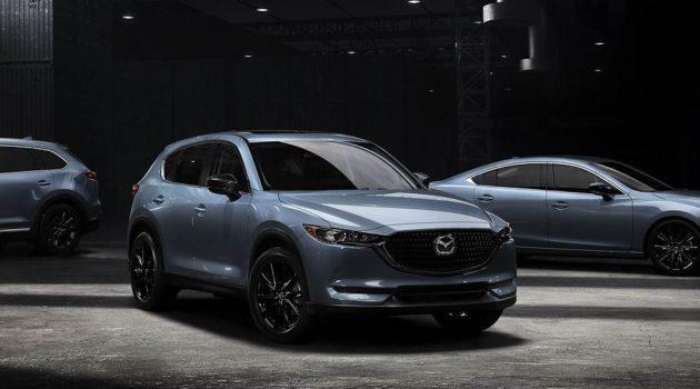 2021 Mazda CX-5 升级版发布,新增 Carbon Edition 新车型