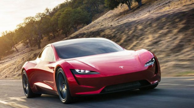 Tesla Roadster 2 明年量产,备有 SpaceX 火箭技术,1.9秒可破百!