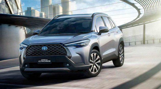 2021 Toyota Corolla Cross 台湾规格曝光,全车系标配 Toyota Safety Sense!