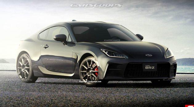 2021 Toyota GR86 与 Subaru BRZ 现身测试,或拥有260Hp/376Nm!