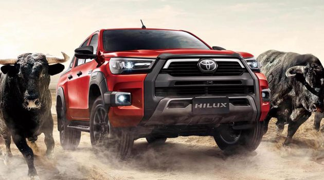 2020 Toyota Hilux 大马售价由 RM92,880 起跳!