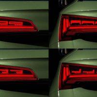2021 Audi Q5 OLED 尾灯可警示后方贴近车子!