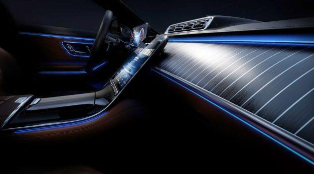 2021 Mercedes-Benz S-Class 内装预告出炉,满满的奢华感!