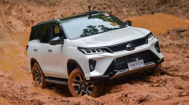 2021 Toyota Fortuner Legender 实车图集,顶级越野SUV!