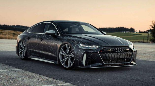 Audi RS7 By Black Box-Richter,一辆马力962Hp,扭力破千的轿跑!