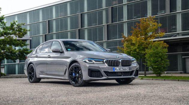 2021 BMW 545e xDrive 发布在即,拥有394PS/600Nm,4.7秒破百!