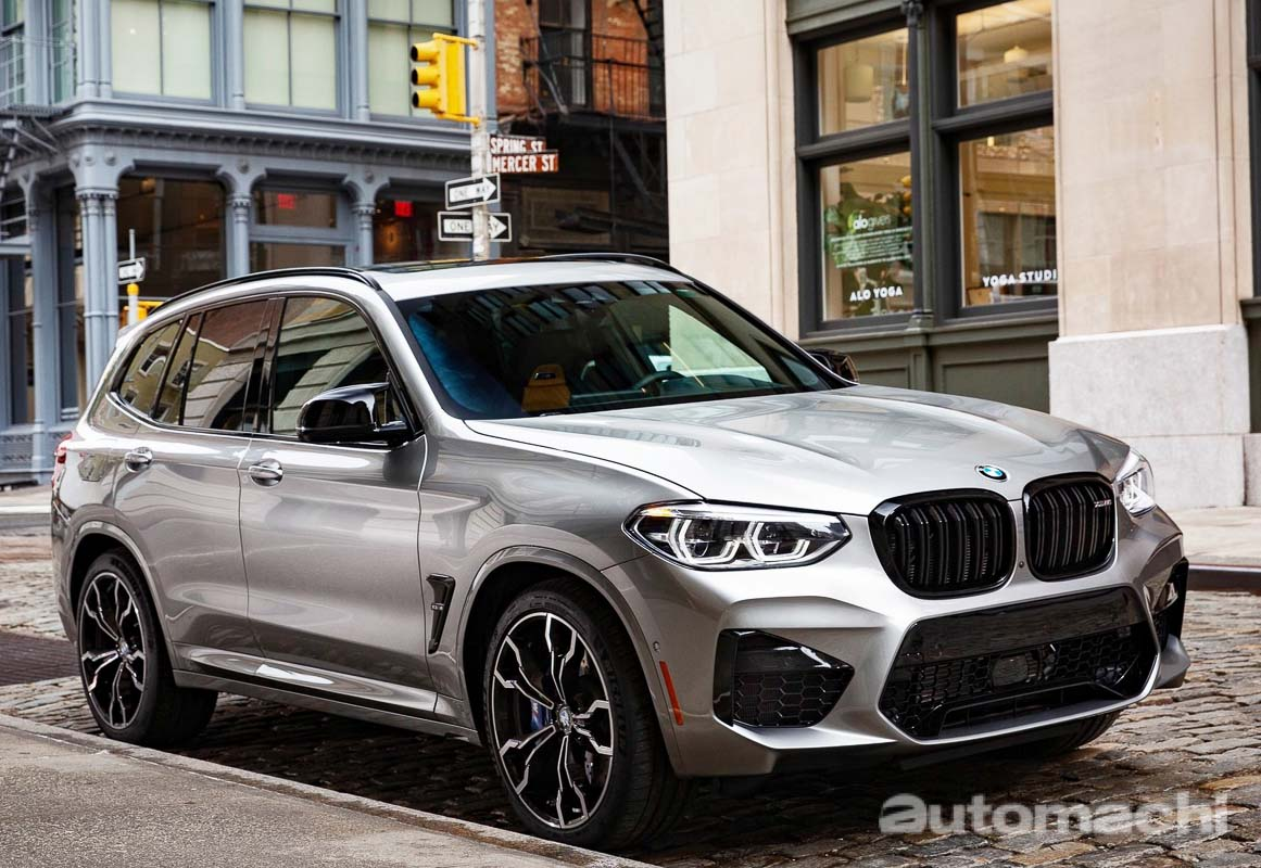 2020 BMW X3 M Competition 与 X3 M Competition 登陆我国