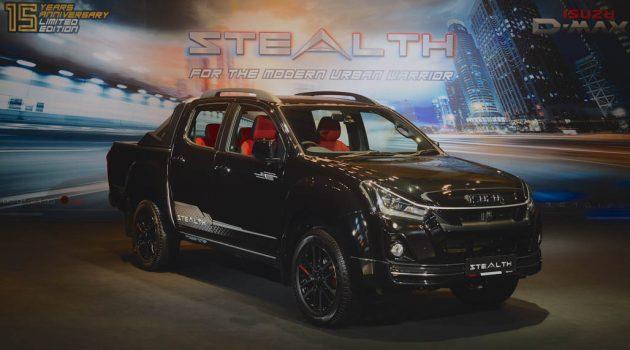 Isuzu D-Max Stealth 发布,全马限量180辆,售价 RM125,799!