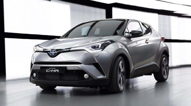Toyota C-HR 或停止销售,让路 Corolla Cross