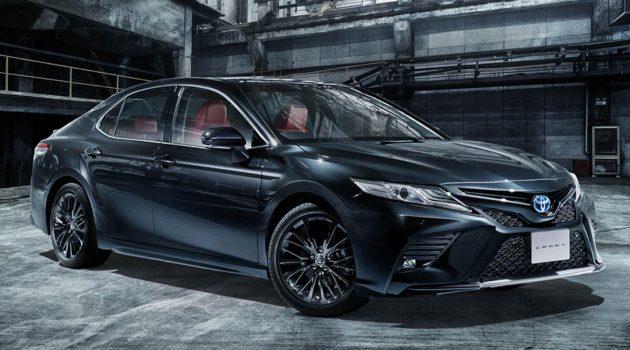 Toyota Camry Black Edition 40周年纪念版登场,日本开价 RM166,740