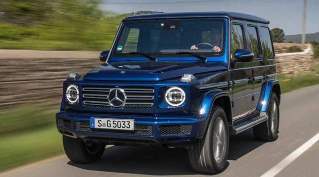 Mercedes-Benz G350 实车照曝光,更亲民的 G Class!