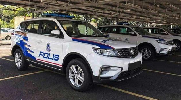 Proton X70 CKD 警车正式上路,与 Civic 一起行政执法!