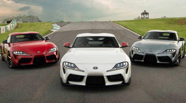 Toyota Supra A90 或推出6速手排以及 GRMN 高性能版!