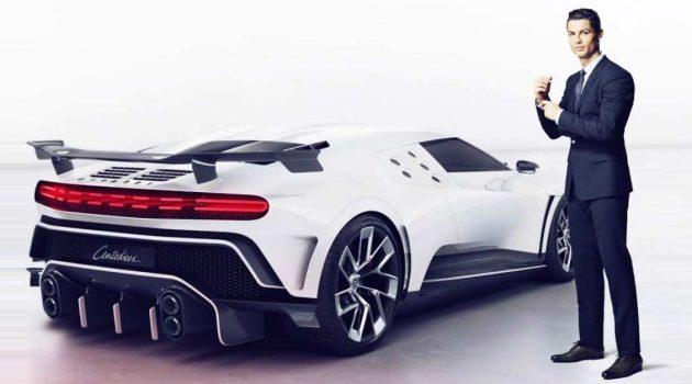 Cristiano Ronaldo 狠花 3,964万入手 Bugatti Centodieci 限量超跑!
