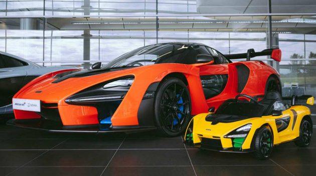 McLaren Senna Ride-On,人人都买得起的 McLaren!