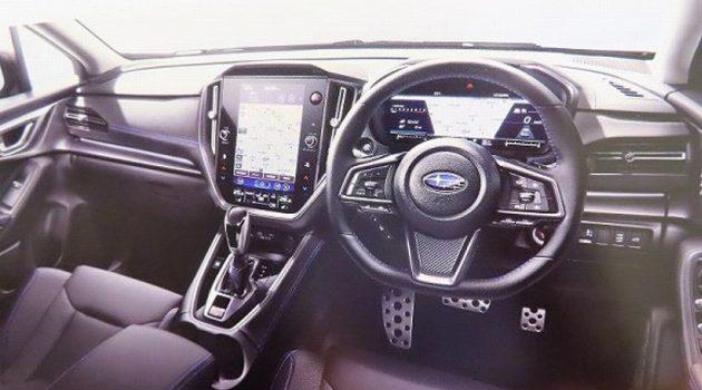 2020 Subaru WRX 内装曝光?科技感十足!