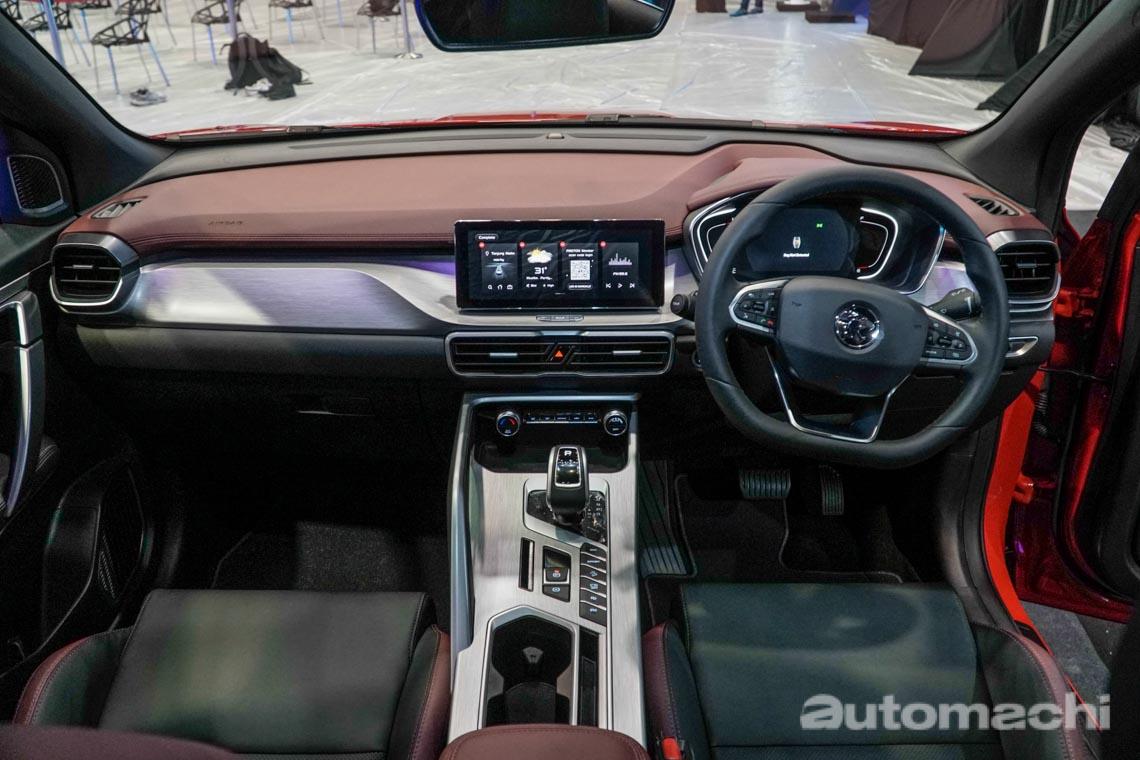 2020 Proton X50 规格公开,四车型供选择
