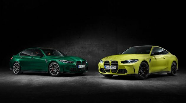 2021 BMW M3 以及 M4 官图发布前曝光!霸气的前脸你喜欢吗?