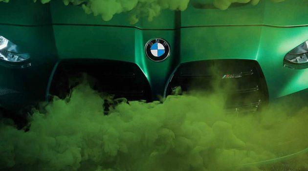 2021 BMW M3 以及 M4 官图释出,马力503Hp,拥有6速手排变速箱!