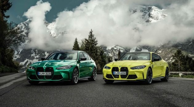 2021 BMW M3 与 M4 正式发布,503Hp/650Nm,4秒内破百!