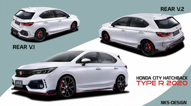 Honda City Hatchback NKS 改装套件出炉,难道发布在即了?