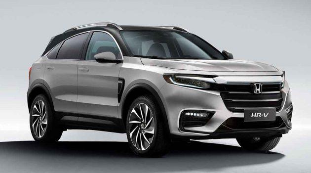 2021 Honda Vezel 现身,将采用 Coupe SUV 风格