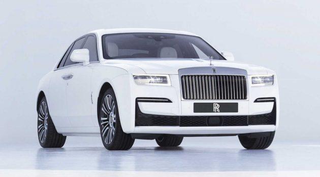 2021 Rolls-Royce Ghost 正式发表,极简风V12房车!
