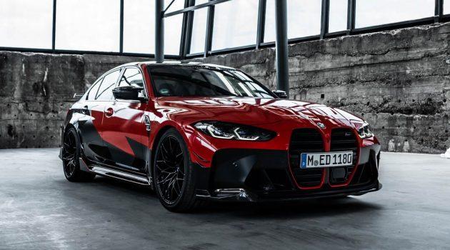 2021 BMW M3 Competition+M Performance Parts,颜值性能爆表!