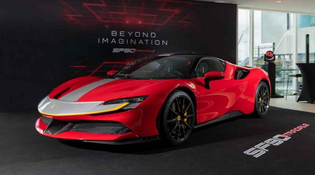 Ferrari SF90 Stradale 正式登陆我国,不含税售价RM 1,908,000