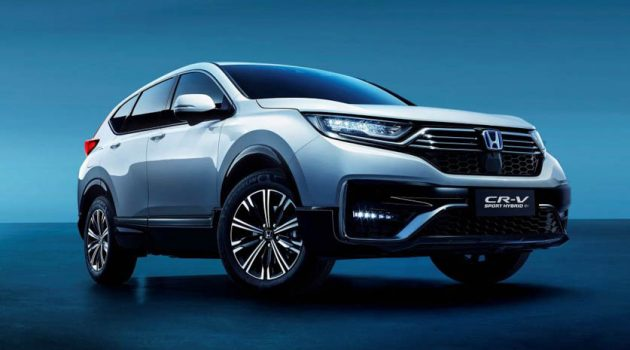 2021 Honda CR-V PHEV 登场,纯电续航80KM,油耗低至1.1L/100KM!