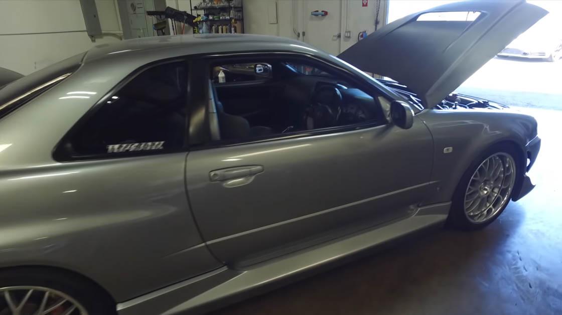 Paul Walker Nissan Skyline GT-R R34