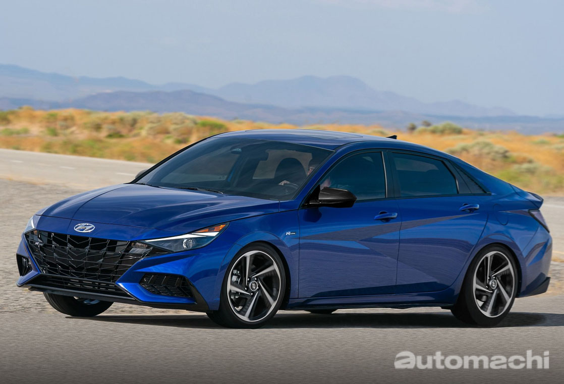 Hyundai Elantra 大改款将提供1.5L自然进气引擎+CVT变速箱