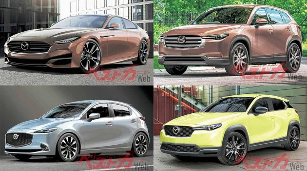 Mazda 4款车型将迎来大改款,日本车媒曝光细节!