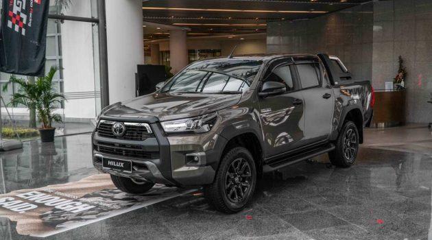 2020 Toyota Hilux  大马发布,售价 RM92,880 起跳
