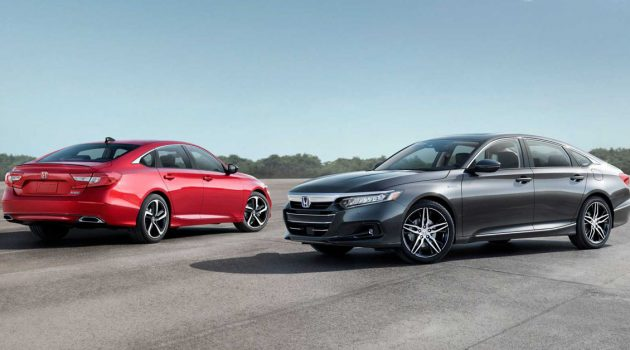 2021 Honda Accord 美国发表,进一步优化动力